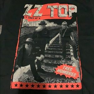Other - ZZ Top concert t shirt tres hombres